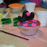 Arlecchino Cupcake realizzata da una corsista