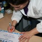 Dolci Chicche di Antonella firma un attestato
