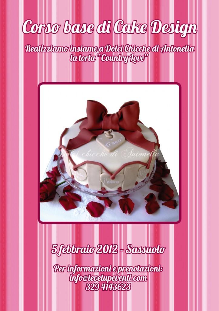 1 corso di cake design a sassuolo tema s valentino for Corso di fashion design