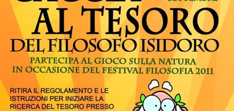 Caccia al Tesoro del Filosofo Isidoro – FestivalFilosofia