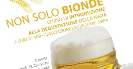 Non solo bionde – corso di degustazione birra