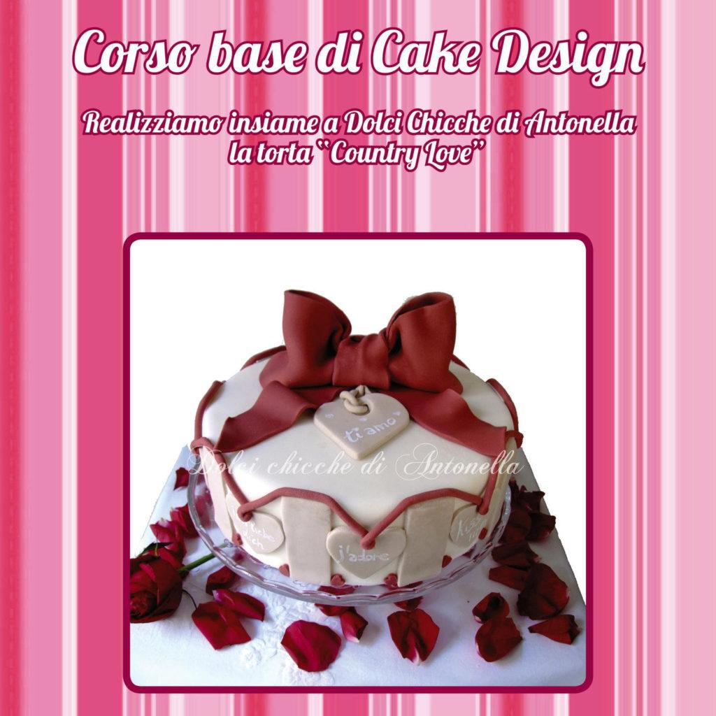 UNO DEI NOSTRI CORSI... Corso Base di Cake Design